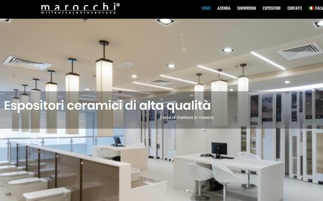 New website Marocchi.it